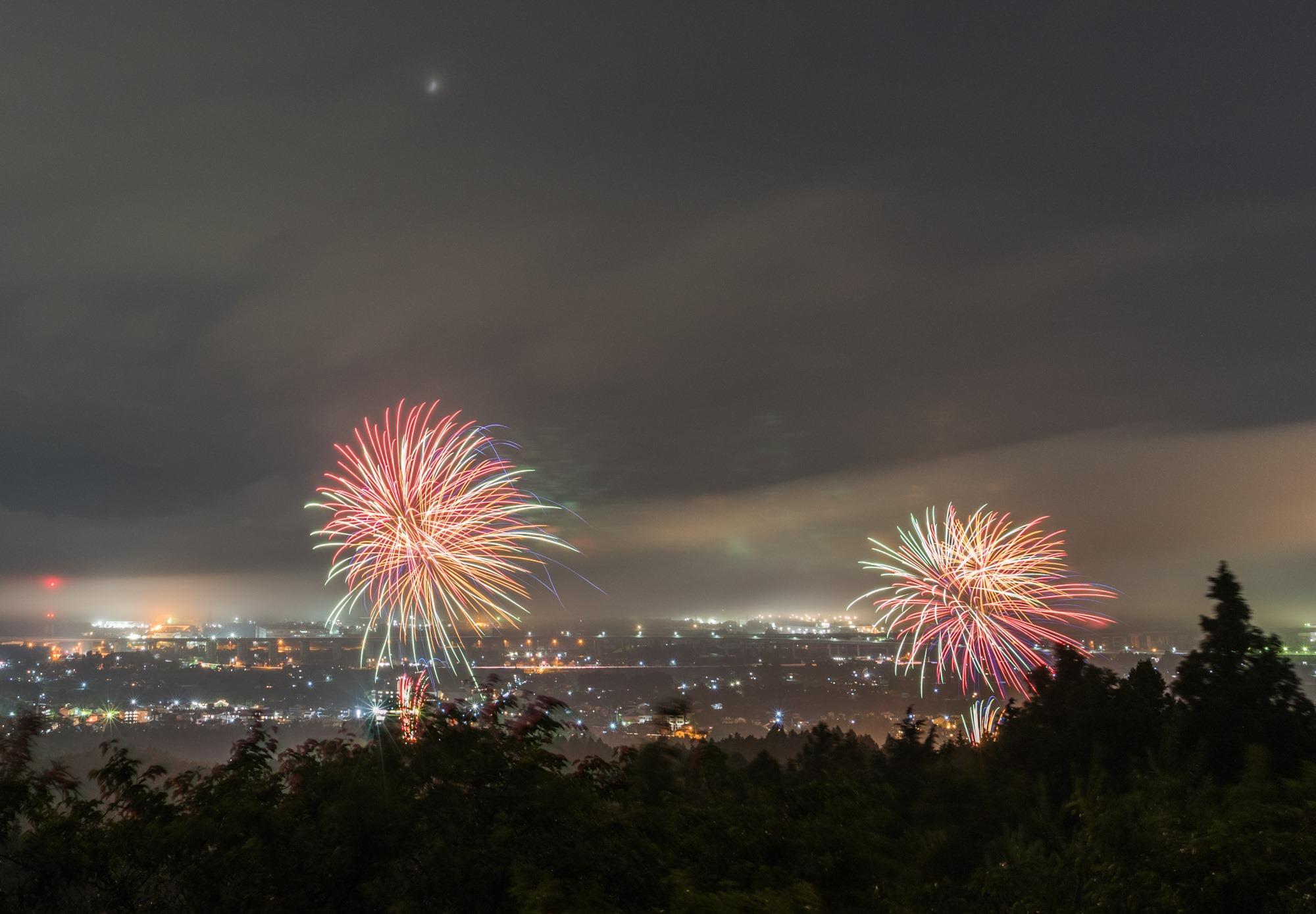 東京2020大会1年前!「はじまりの花火」が打ちあがりました
