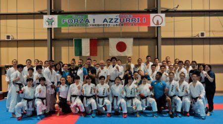 空手イタリア代表チームの東京2020大会直前合宿を受け入れます!