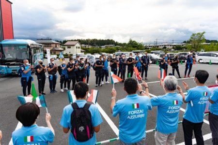 東京2020大会に向けて最終調整!空手イタリア代表が合宿地御殿場市に到着しました!