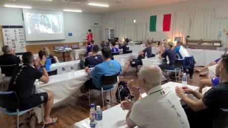 市民のエールで空手イタリア代表をサポート!
