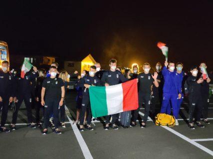 東京2020大会に向けて柔道イタリア代表チームが御殿場市に到着!