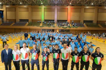 空手イタリアチームが凱旋!